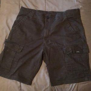Men's black wrangler shorts